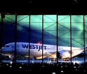 New Dreamliner Shines For WestJet