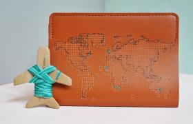 Unique Passport Cover Showcases your Waypoints